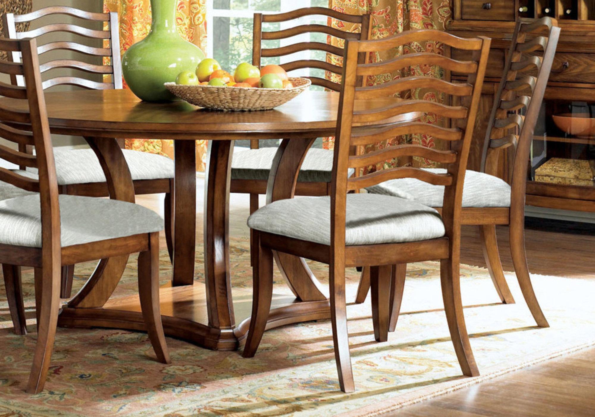 Dining Chair 2pcs 41 H Golden Oak